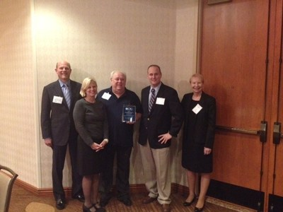 Left to Right: Jeff Batozech, Regional Field Executive - Northern California Region, Capital Insurance Group; Marlynn Bijl, McClatchy Insurance Agency; Bill Newbill, McClatchy Insurance Agency; Harold Newbill, McClatchy Insurance Agency, Marcia McGrath, Agency Development Manager, Capital Insurance Group