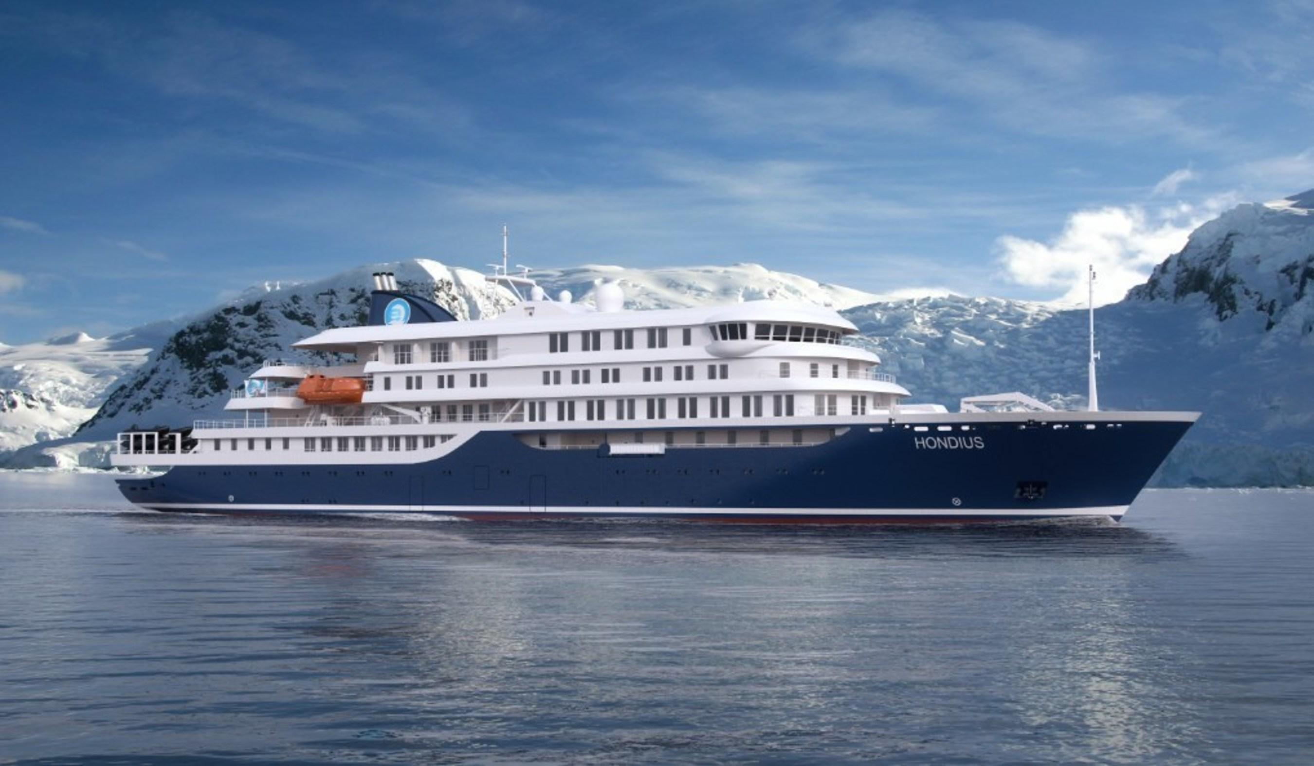 Oceanwide's new advanced Polar vessel Hondius