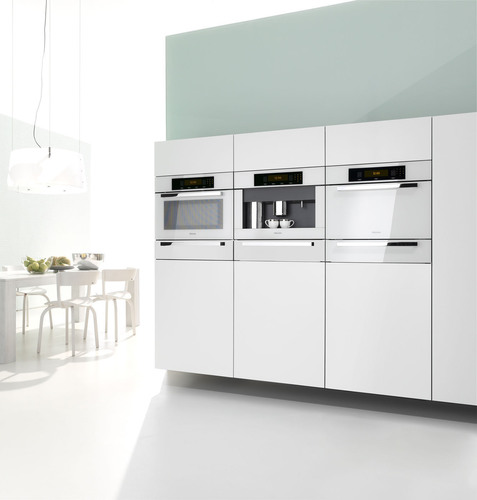 Miele Brilliant White Plus Series tests the limits of design, demonstrating what can be achieved through color options that stimulate the imagination - the true embodiment of Immer Besser.  (PRNewsFoto/White Good)