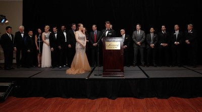 The Santa Clara County Association of REALTORS(R) installed new president Trisha Motter and its entire 2016 Board of Directors at the Fairmont Hotel in San Jose.