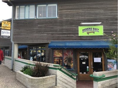 The Morro Bay Skateboard Museum houses a collection of over 300 skateboards from the early 1930s to today.