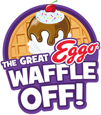 The Great Eggo(R) Waffle Off! contest from now until November 4.  (PRNewsFoto/Kellogg Company)