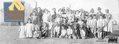A new exhibit at History Colorado's El Pueblo History Museum examines the 1913-1914 coal strike of southern Colorado and the Ludlow Massacre--an event that sparked a national outcry--through the lens of the children who were caught in its crossfire. (PRNewsFoto/History Colorado) (PRNewsFoto/HISTORY COLORADO)