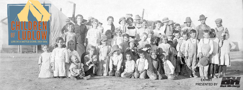 A new exhibit at History Colorado's El Pueblo History Museum examines the 1913-1914 coal strike of southern Colorado and the Ludlow Massacre--an event that sparked a national outcry--through the lens of the children who were caught in its crossfire.  (PRNewsFoto/History Colorado)