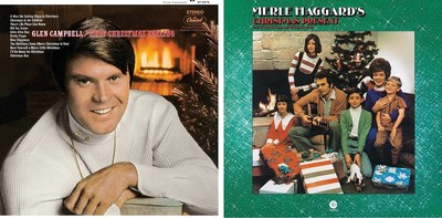 Universal Music Enterprises is releasing two classic country Christmas albums on September 23 when it reissues Glen Campbell's 'That Christmas Feeling' and Merle Haggard's 'Christmas Present'  on vinyl. Each was recorded at the height of the legendary artists' popularity and displays all the unique qualities that made each Country Music Hall of Fame members.