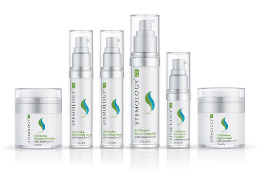 STEMCORE-3 SETS STEMOLOGY APART AS FIRST AND ONLY SKINCARE LINE TO COMBINE HUMAN ADULT AND PLANT STEM CELLS - www.stemologyskincare.com.  (PRNewsFoto/DermaTech Research Laboratories)