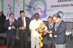 Key Dignitaries at the inauguration of OSH India 2016, India's largest trade show for Occupational Safety & Health industry in Mumbai by UBM India (PRNewsFoto/UBM India Pvt. Ltd.)