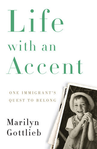 Cover of Life with an Accent: An Immigrant's Quest to Belong by Marilyn Gottlieb. Frank Levy as a child in the Middle East in 1943. Sixty-five years later he won an international award for sustainable technology to recycle carpets. (PRNewsFoto/The Crescendo Group) (PRNewsFoto/THE CRESCENDO GROUP)