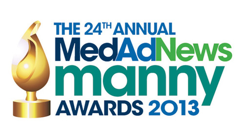 24th Annual Med Ad News Manny Awards 2013 - New York, NY.  (PRNewsFoto/UBM Canon)