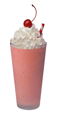 The Chick-fil-A Hand-Spun Peppermint Chocolate Chip Milkshake is back for another holiday season. Don't miss out on this limited-time, wintry mint-mix!     (PRNewsFoto/Chick-fil-A, Inc.)