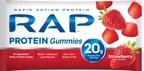 RAP(TM) Protein Gummies Strawberry. (PRNewsFoto/RAP(TM) Protein Gummies)