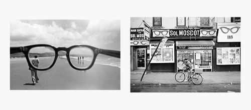 Eyeglasses, California, 1978 | Sol Moscot Optician, New York, 1970 Copyright (C) Mark Chester from the book ...