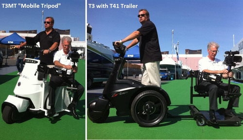 T3 Motion Successfully Launches T3 Electric Vehicle into Film Production Industry at NAB Show