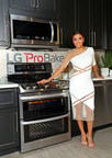 Eva Longoria celebrates the launch of the new LG ProBake Convection(TM) ranges at the LG Fam-to-Table Series: ProBake Edition event on August 22, 2015, in Los Angeles. LG's latest ranges allow for consistent heating on the top and bottom of every dish.
