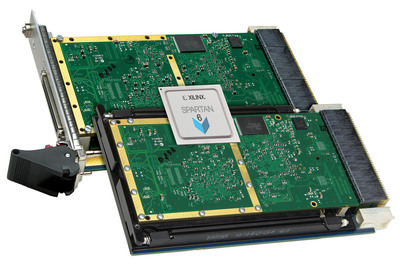 Acromag's new VPX board features a configurable Spartan-6 FPGA for high performance/price computing.  (PRNewsFoto/Acromag)