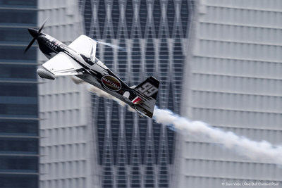 Cirrus Aircraft and Michael Goulian are gearing up for the Red Bull Air Race World Championship in Ascot Aug. 16-17. (PRNewsFoto/Cirrus Aircraft)