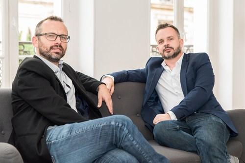 Nicolas Drouet, CPO & Anthony Sollinger, CEO (PRNewsFoto/CloudScreener.com)