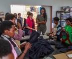 Ange Kagame Visits The ADC Factory In Masoro, Rwanda
