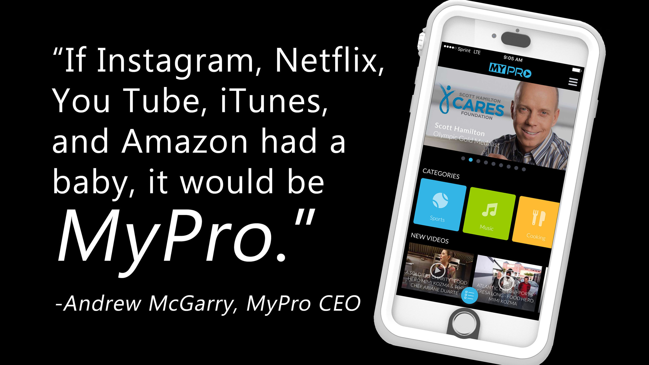 MyPro's website and apps create a compelling landscape for content creators globally.