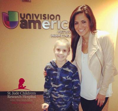 Univision Radio raises $3.8M for St. Jude!  (PRNewsFoto/St. Jude Children's Research Hospital)