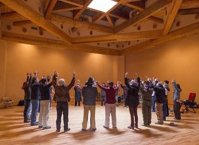 Kiva at the Chi Center for Wisdom Healing Qigong