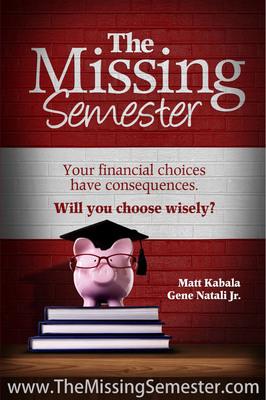 The Missing Semester Book Cover. (PRNewsFoto/Eugene M. Natali, Jr.) (PRNewsFoto/EUGENE M. NATALI, JR.)