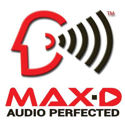 MAX-D and Pitbull Take HD Audio Worldwide.  (PRNewsFoto/Max Sound Corporation)