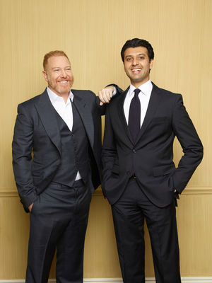 Ryan Kavanaugh, CEO of Relativity Media, and Ishan Saksena, CEO of B4U. (PRNewsFoto/Relativity Media)