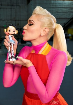 Here's a first peek at Gwen Stefani's new super cute Kuu Kuu Harajuku fashion doll line coming out next spring from Mattel!  Gwen's new animated series Kuu Kuu Harajuku premieres on Nickelodeon weeknights at 4pm ET/PT.