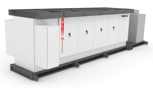 TMEIC Solar Ware Samurai 1.667 MW Inverter. (PRNewsFoto/TMEIC) (PRNewsFoto/TMEIC)