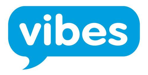 Vibes logo. (PRNewsFoto/Vibes) (PRNewsFoto/VIBES)