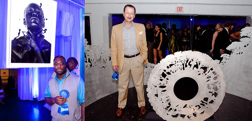 Stan Squirewell, The Carbon Anomaly - Jorge Cavalier, Labyrinths.  (PRNewsFoto/BOMBAY SAPPHIRE (R), George ...