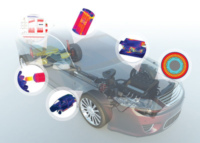 Flux(R) Electromagnetics Software Allows Engineers to Simulate e-mobility Applications to Develop Electric and Connected Vehicles.