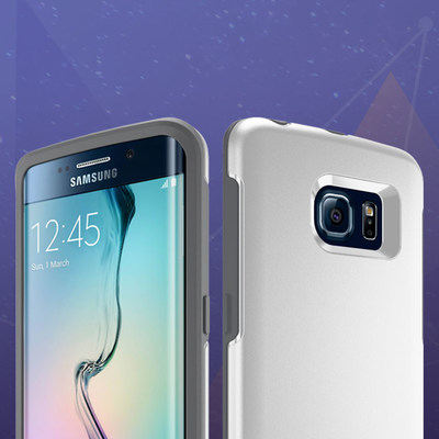 OtterBox Symmetry Series for GALAXY S6 edge, available now on otterbox.com.