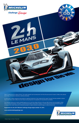 Michelin Challenge Design Looks at Le Mans 2030