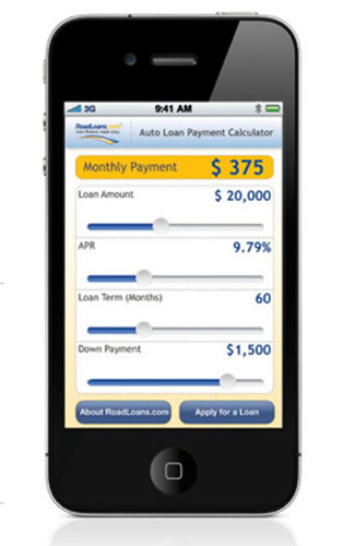 RoadLoans.com® Launches Car-Financing Application for the iPhone