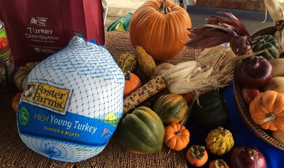 Foster Farms has donated more than 81,000 pounds of turkey to six West Coast food banks.
