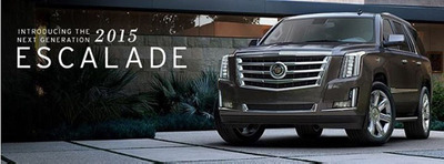 The staff at Cavender Cadillac will be busy this fall and winter getting ready for the arrival of the 2015 Cadillac Escalade. The new SUV promises to be the most luxurious version to date.  (PRNewsFoto/Cavender Cadillac)