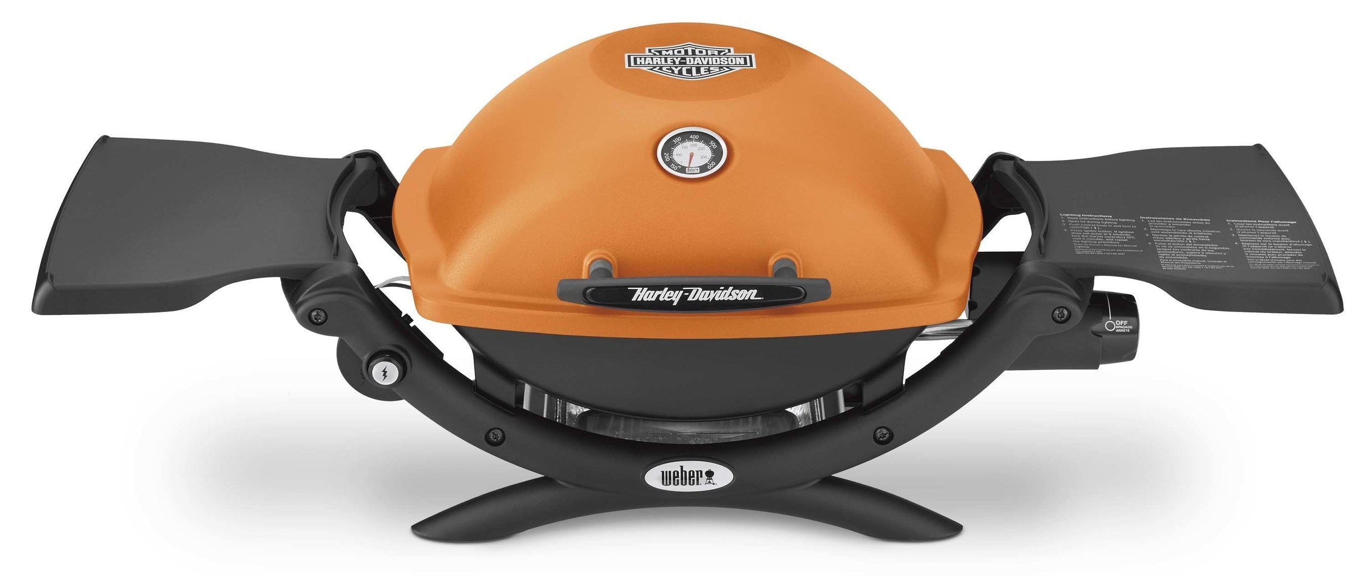 Get Revved Up to Grill with Weber's New Harley-Davidson(R) Gas Grill