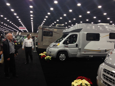 Winnebago introduces exciting new lineup at National RV Show.  (PRNewsFoto/Winnebago Industries, Inc.)