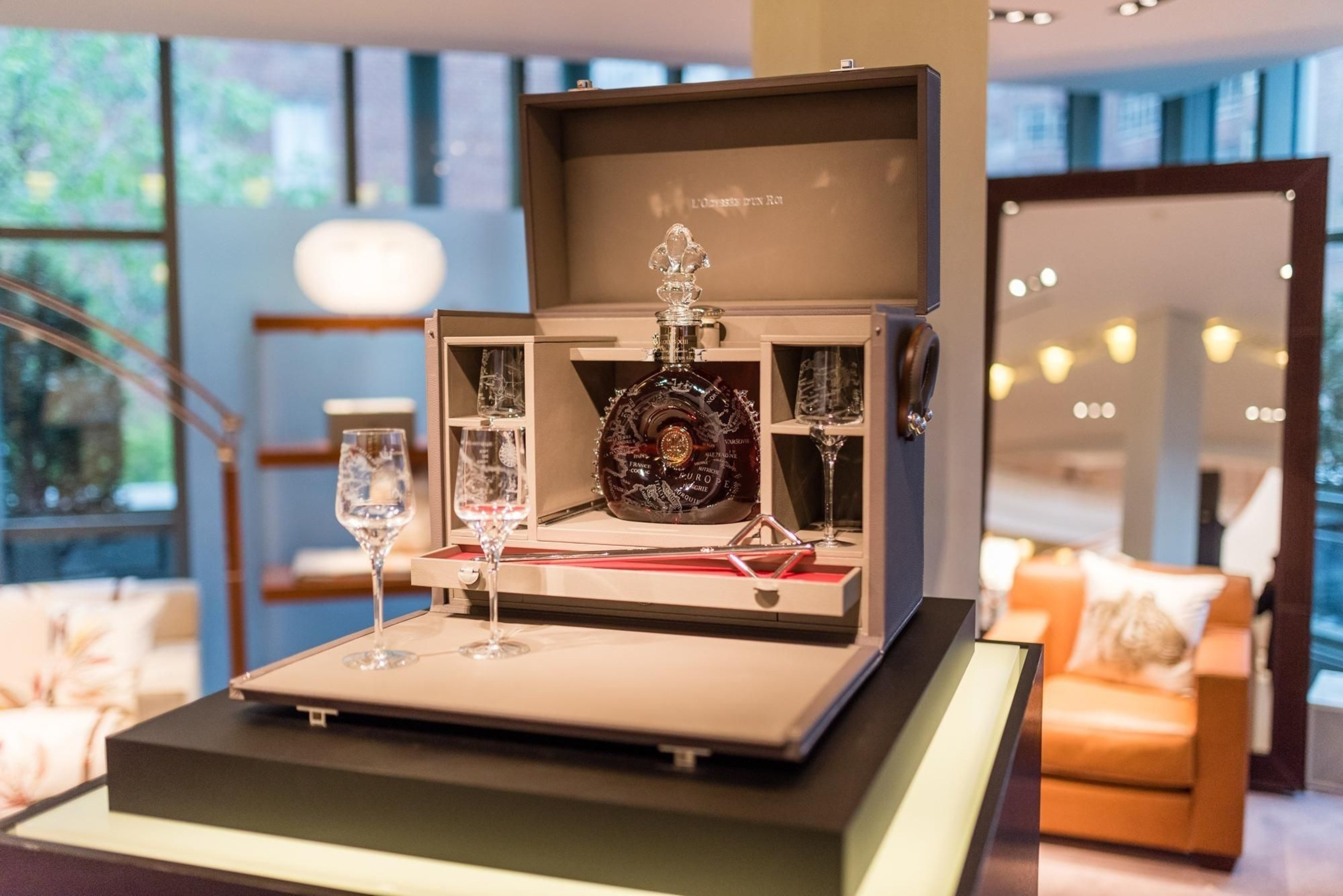 LOUIS XIII Fetches Record Price of US$ 558,000 for Three LOUIS XIII L'ODYSS'E D'UN ROI Limited Editions Auctioned by Sotheby's