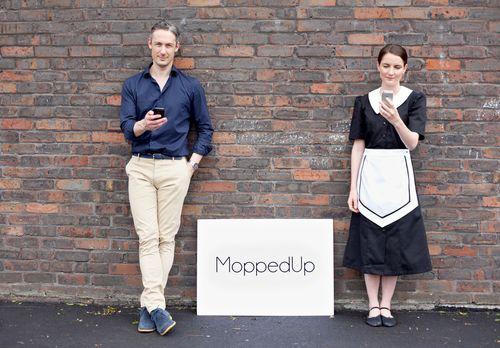 Designer of unique housework management app MoppedUp comes clean about his mid-life crisis solution (PRNewsFoto/MoppedUp)