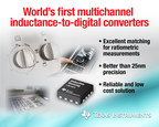 TI introduces world's first multichannel inductance-to-digital converters with four new devices in the LDC1614 family