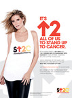 Heidi Klum strikes a pose for Stand Up To Cancer.  (PRNewsFoto/Stand Up To Cancer)