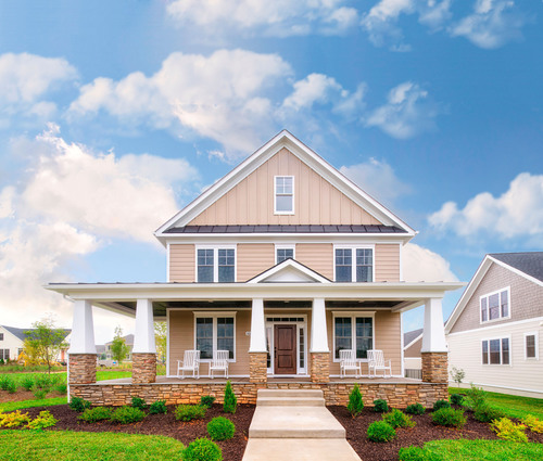 The Ashland model at Old Trail in Crozet, VA is a luxurious single family home with four bedrooms. Residents of  ...