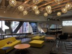 An employee lounge at KPMG's new Ignition center in Denver.