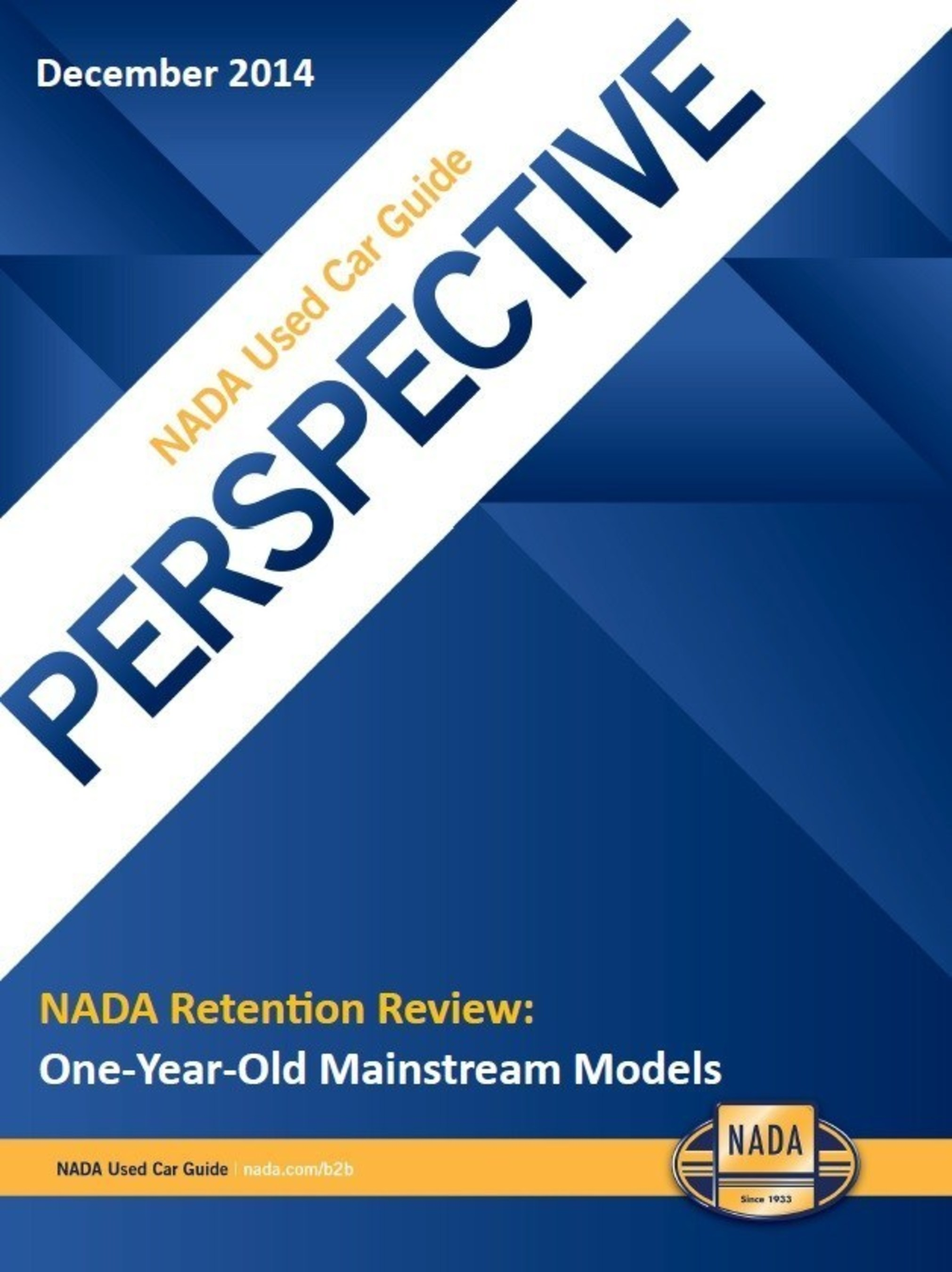 In their final vehicle retention value report for the year, NADA Used Car Guide analysts detailed the one-year performance of all-new, or heavily redesigned mainstream car and truck models.