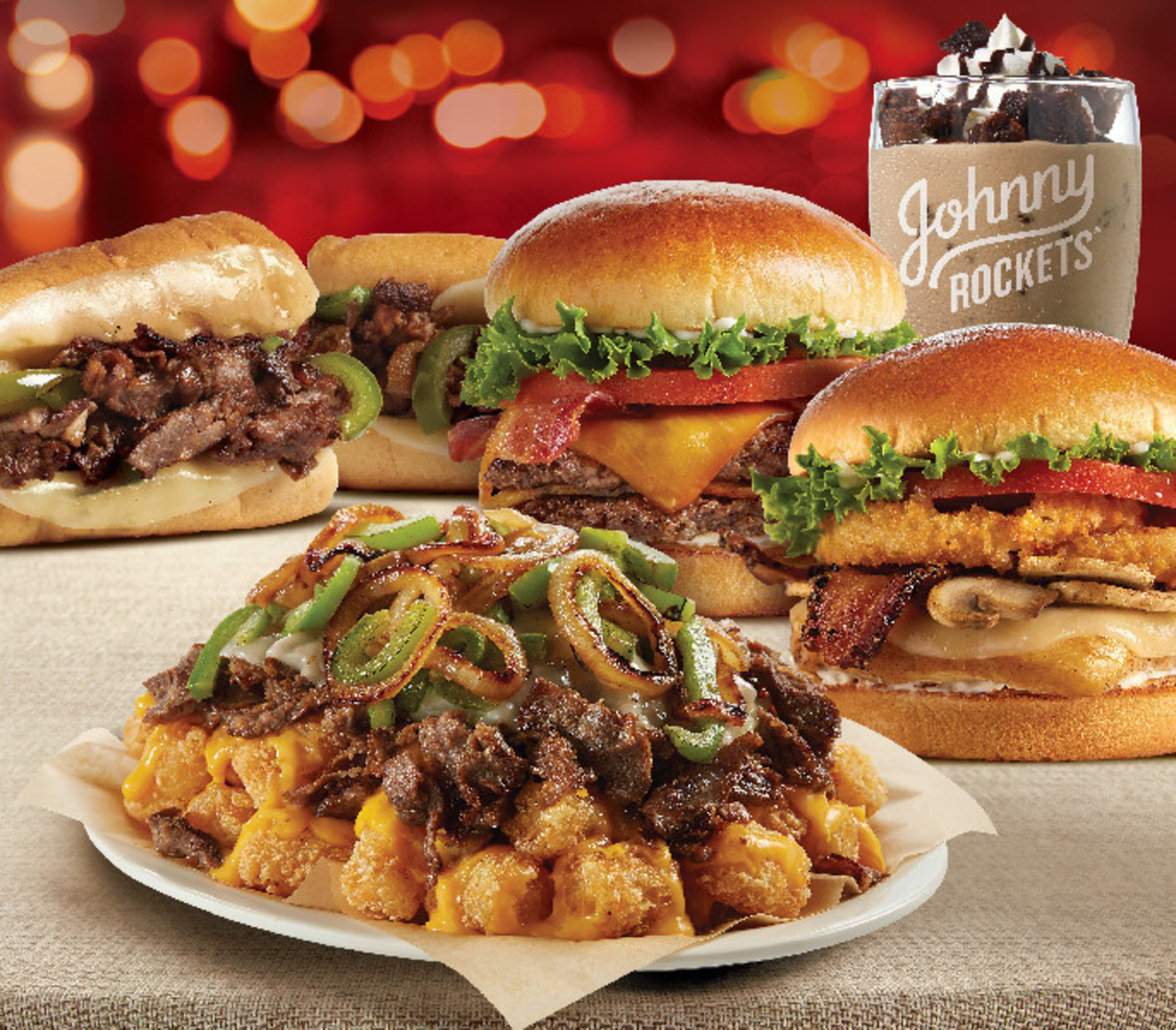 Johnny Rockets limited time winter menu debuts today at participating restaurants across the country.