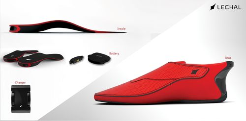 Ducere Technologies launches LECHAL, the world's first interactive haptic based footwear (PRNewsFoto/Ducere  ...