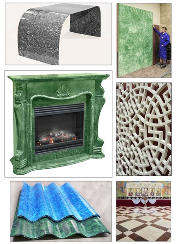 Wide range of SISTROM products - from small lacy tiles to big slabs. Numerous products - one technology, one ...